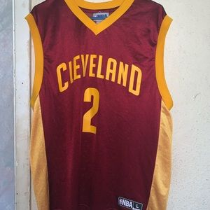 Cleveland Cavalier Kyrie Irving jersey